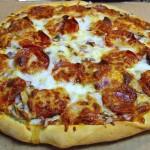 pizza con il salame