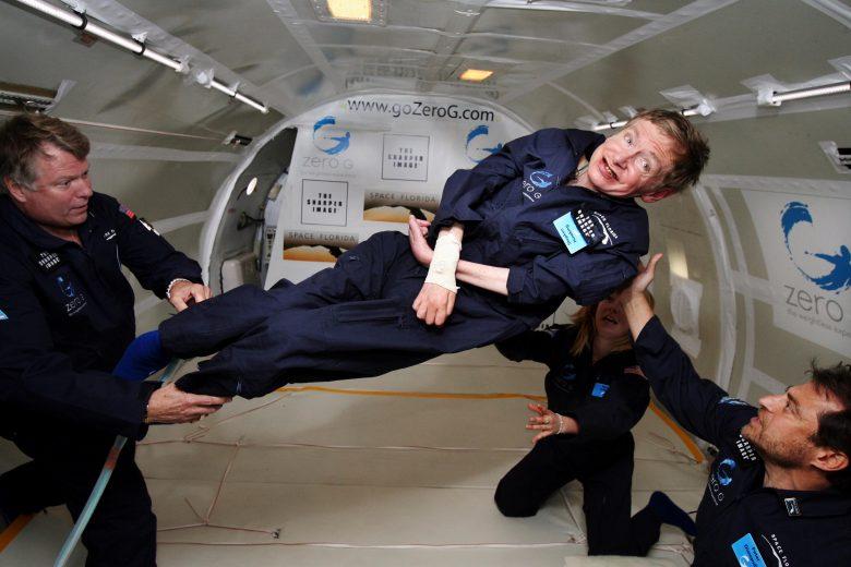 stephen hawking gravità zero
