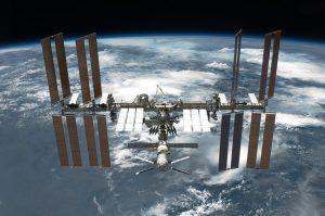 stazione spaziale internazionale particelle