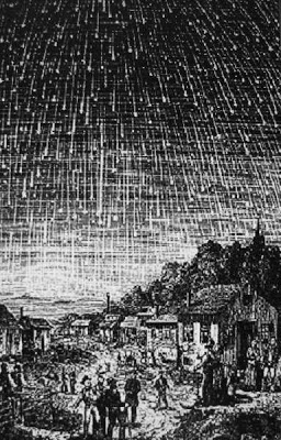 tempesta, meteorica, leonidi, 1833