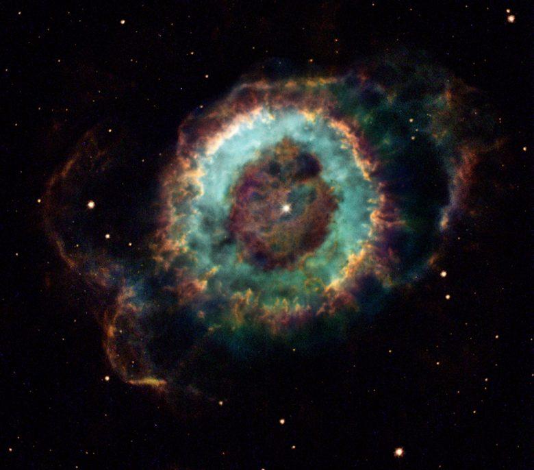 little ghost nebula APOD