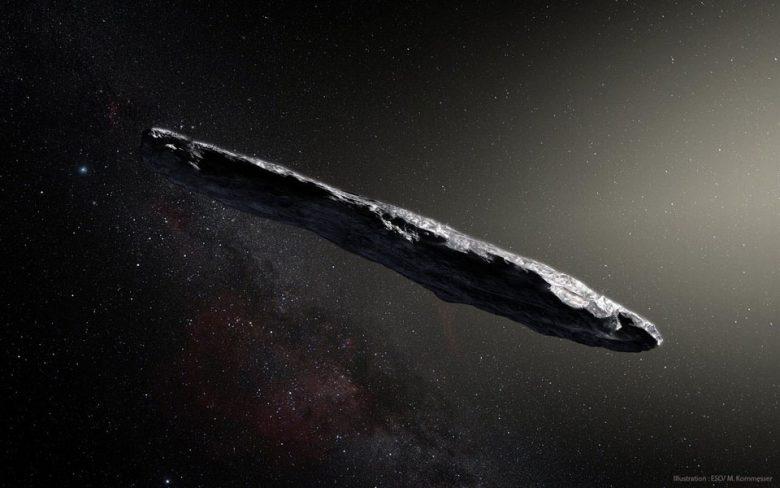 oumuamua asteroide fuori dal sistema solare