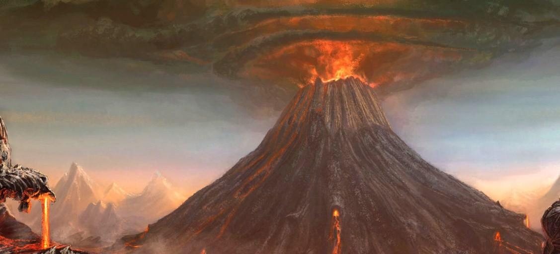 Vulcani Disegni: Le Esplosioni Vulcaniche Nella Storia